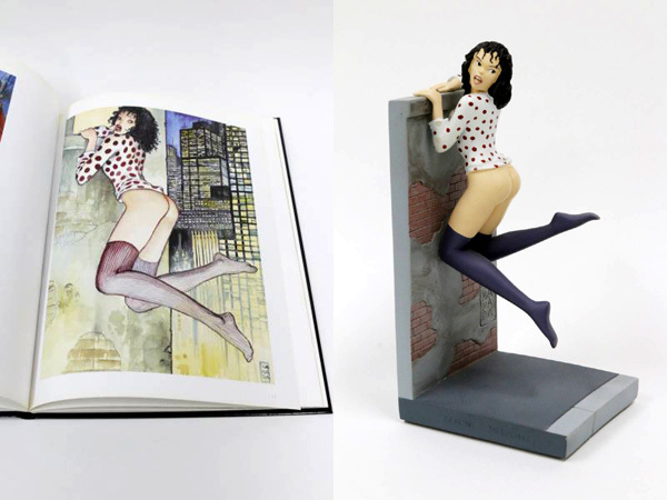 ミロ・マナラのブックスタンドと作品集