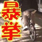 電車内や駅のホームで自転車を乗り回して大暴れ!動画で自慢の暴挙