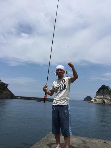 伊豆で釣り