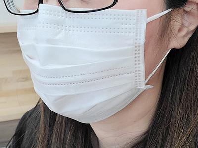 メガネが曇りにくいマスク(DCM)